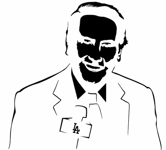 Your vin scully pumpkin stencil of the day cbssports