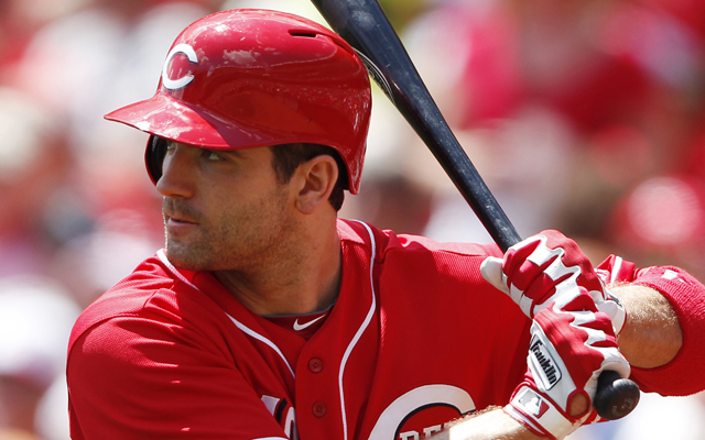Does Joey Votto need to swing more?