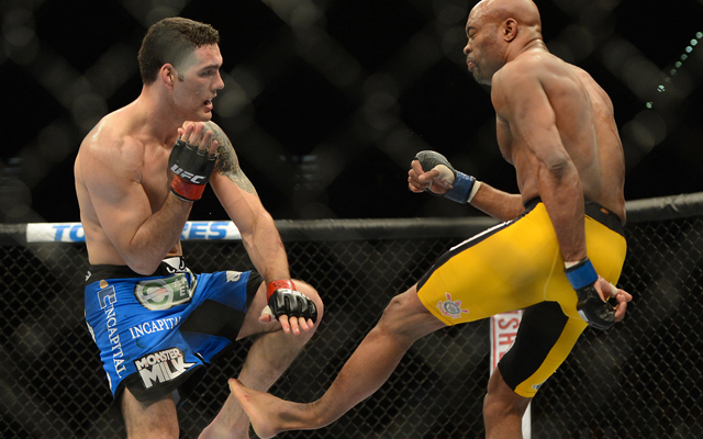 Chris Weidman will look to for a repeat performance as he defends his belt against Anderson Silva (USATSI)