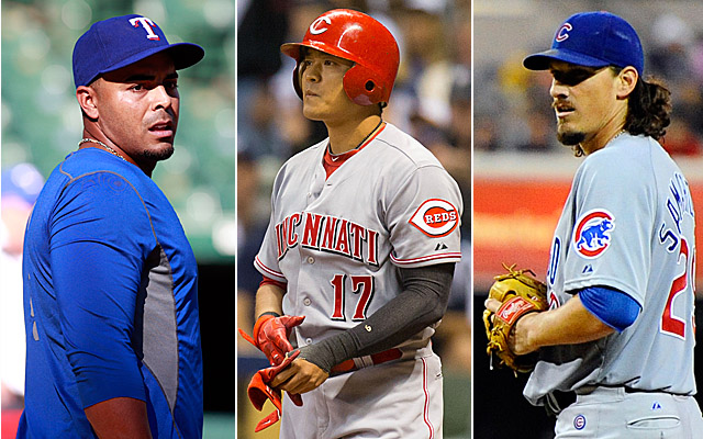 Cruz, Choo and Samardzija are names we'll hear often this coming week.