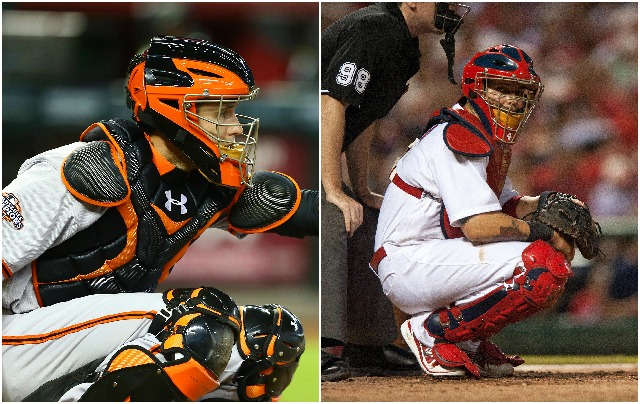Yadier Molina Catching 2013 All-Star voting featur...
