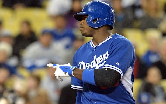 Let the record show that Yasiel Puig did a very mature thing recently. (USATSI)