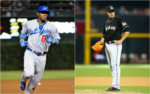 Is the NL RoY race down to Puig and Fernandez? (USATSI)