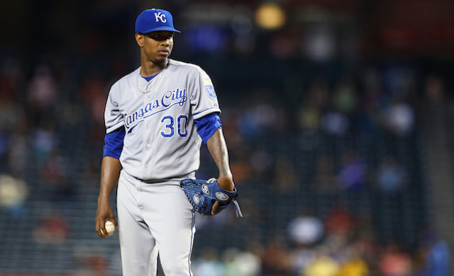 Yordano Ventura won't be able to answer the bell for his next scheduled start. (USATSI)
