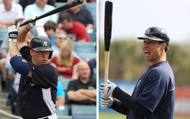 Kevin Youkilis (left) and Mark Teixeira will give the Yankees lineup a big lift. (USATSI)