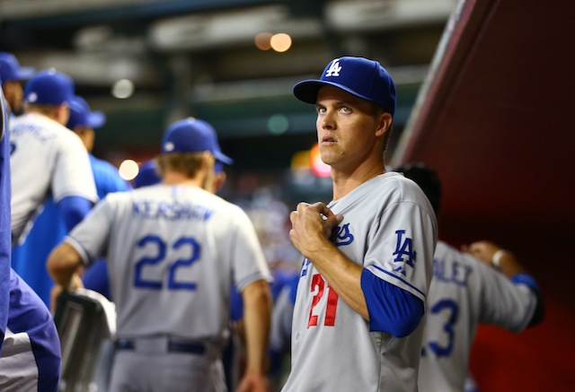 Zack Greinke doesn't look excited. This is because he's not excited. (USATSI)