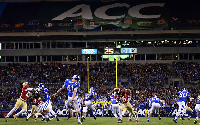 Florida State and Duke played in last year's ACC title game. (USATSI)