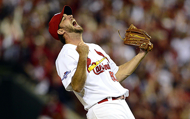 Adam Wainwright again came up huge in the playoffs Wednesday night.