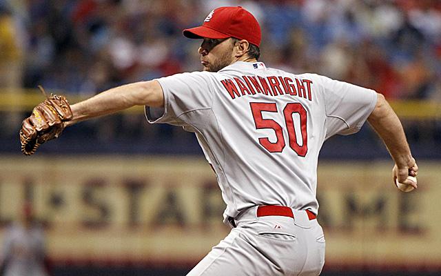 Adam Wainwright is having his balky elbow examined.