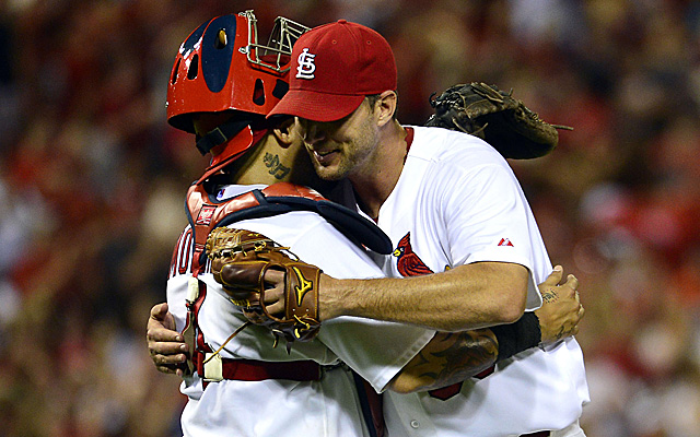 Could Adam Wainwright and Yadier Molina be the starting battery for the NL in the All-Star Game?