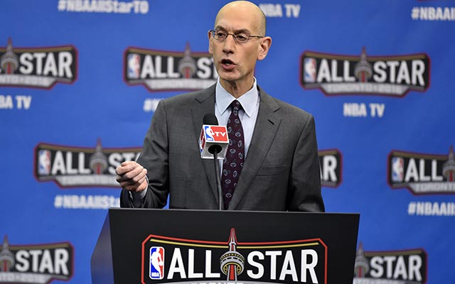 Adam Silver says the NBA could move the All-Star Game. (USATSI)