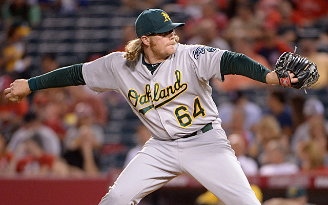 A.J. Griffin will still begin the season on the DL, but he got good news Saturday.
