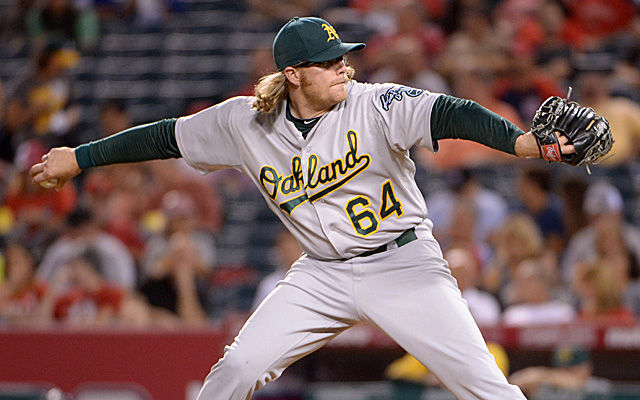 A's starter A.J. Griffin will be the second prospective member of their rotation to have Tommy John surgery this season.