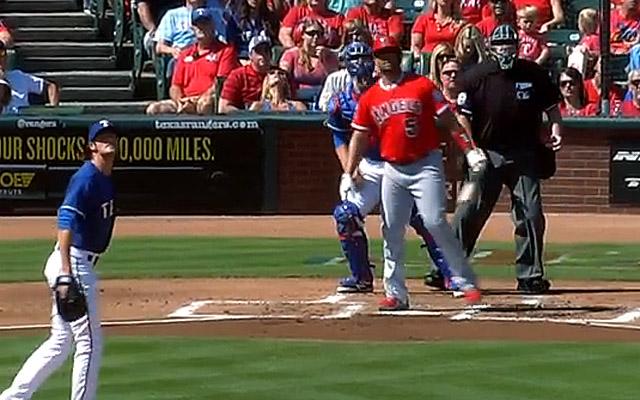 Albert Pujols' 40th home run was a monster shot.