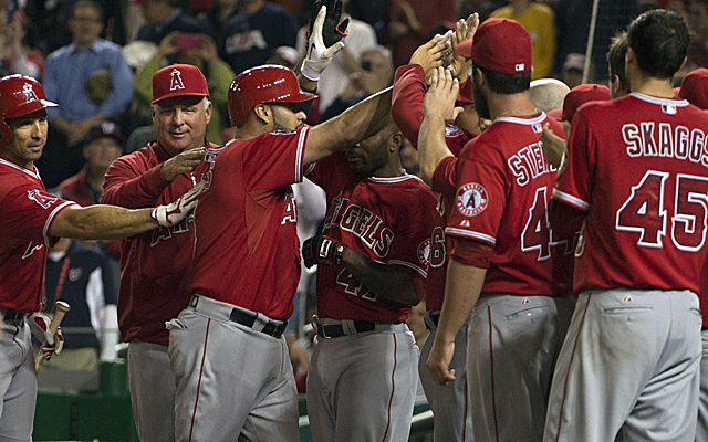 Albert Pujols became the 26th man in history to hit 500 home runs in Major League Baseball.