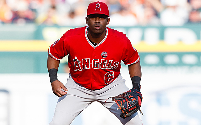 Alberto Callaspo will now be the second baseman for the A's.