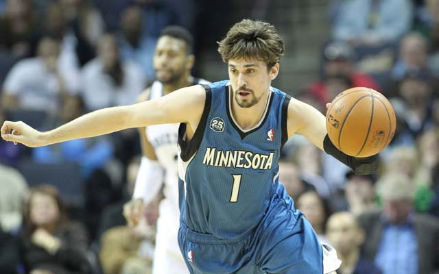 Alexey Shved is a 76er. Poor guy.  (USATSI)
