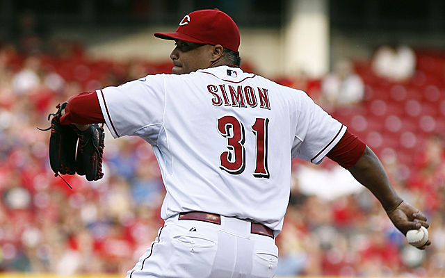 Alfredo Simon has made his first All-Star team.
