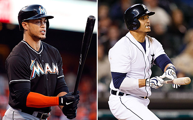 Both Victor Martinez and Giancarlo Stanton would get my vote right now.