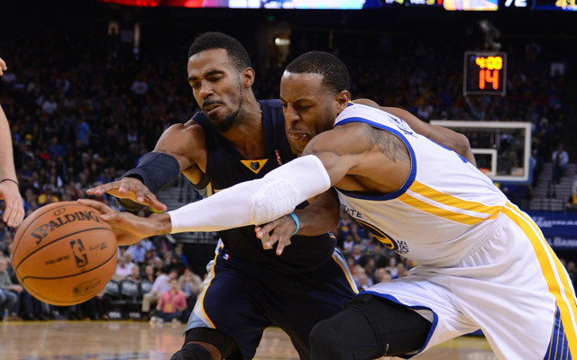 The Warriors miss Andre Iguodala's defense.  (USATSI)