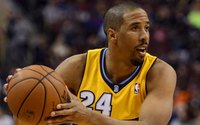 Andre Miller is suspended in Denver. (USATSI)