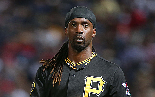 Andrew McCutchen, before cutting his signature dreads.
