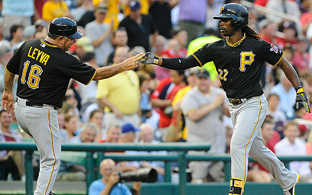 As things stand now, the NL MVP award appears Andrew McCutchen's to lose.
