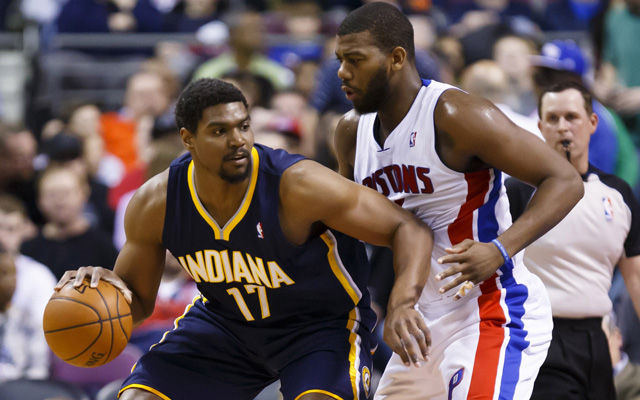 Pacers' Andrew Bynum out Monday, had MRI on knee