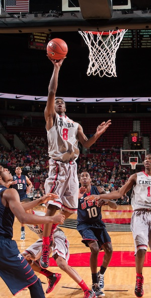Wiggins is the best high school prospect in years. (Getty Images)