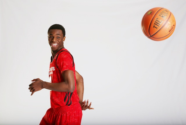Kansas fans will love having Andrew Wiggins as a Jayhawk -- and not just for his basketball skills. (USATSI)