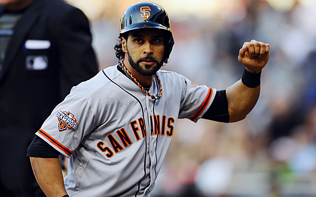 Hamstring surgery will keep Angel Pagan out until the middle of September.