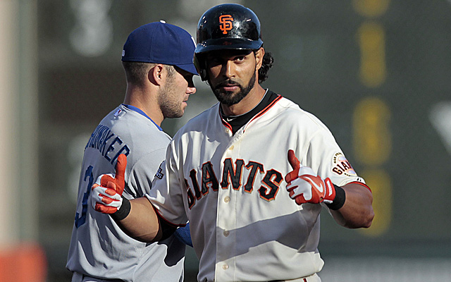 Angel Pagan returns to a significantly different situation in San Francisco.