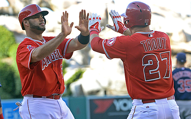 The Angels have reasons for optimism, beginning with these two guys.