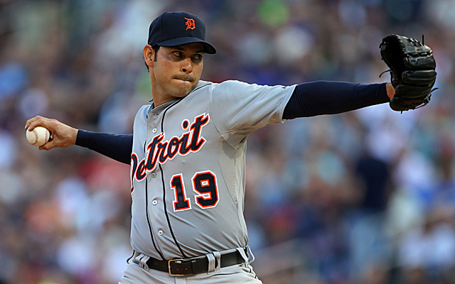 Anibal Sanchez has suffered a setback in his rehab.