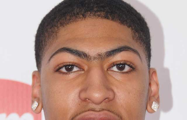 Image result for anthony davis unibrow