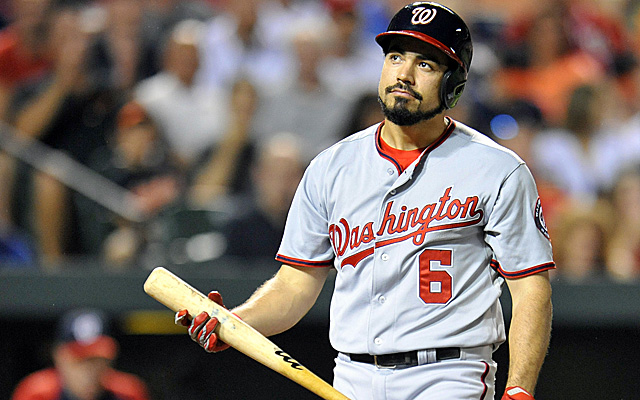Anthony Rendon apparently plays a game he doesn't quite enjoy.