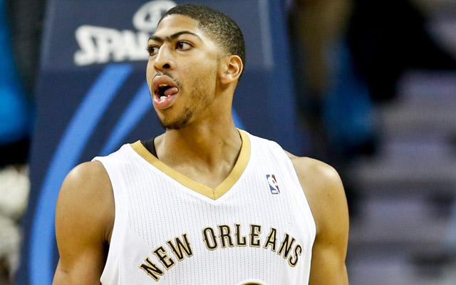 Anthony Davis is out with a hand fracture.  (USATSI)