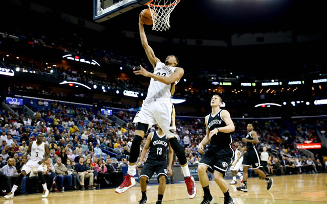 The Pelicans' future is bright with Anthony Davis.  (USATSI)