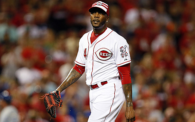 Charges have not been filed against Aroldis Chapman.
