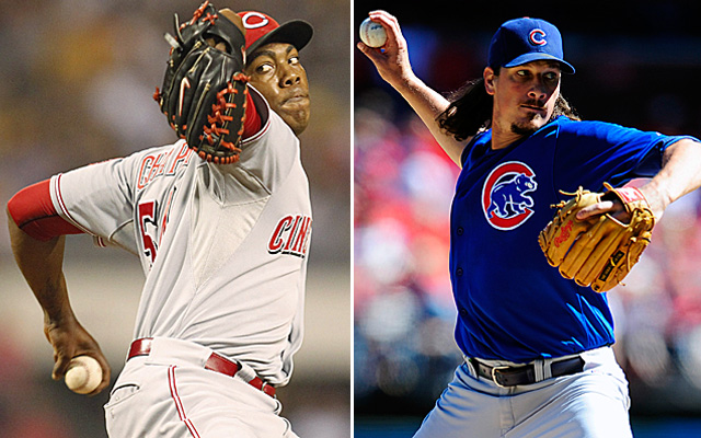 Two NL Central power arms may be headed to arbitration hearings.