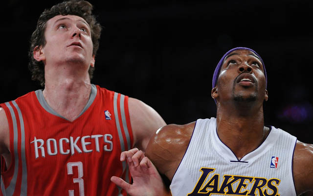 Now Howard and Asik will be next to each other as starters.   (USATSI)