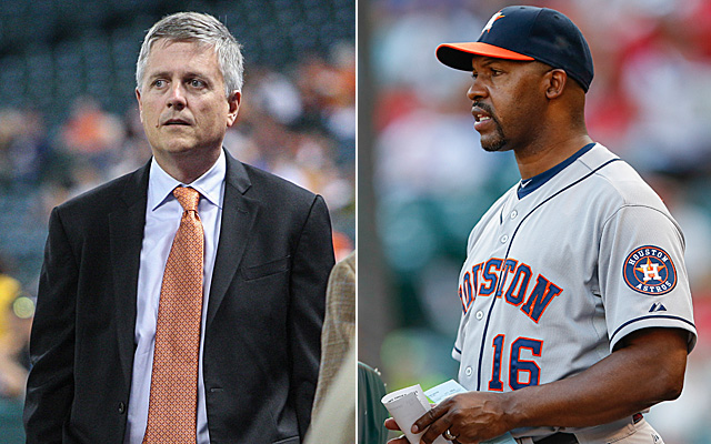 Bo Porter and Jeff Luhnow are reportedly at odds.