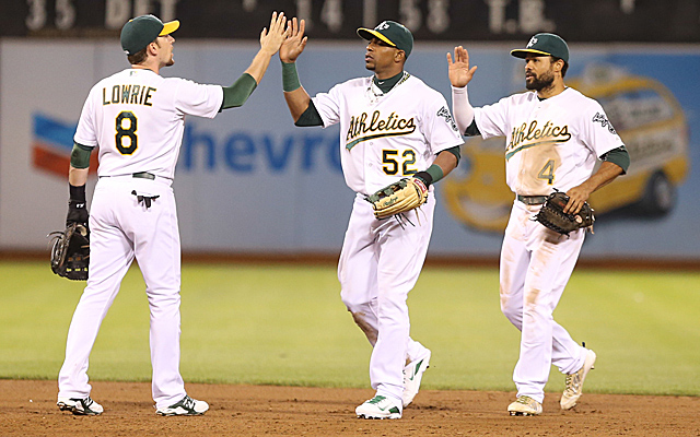 The A's have had a fun first half, haven't they?