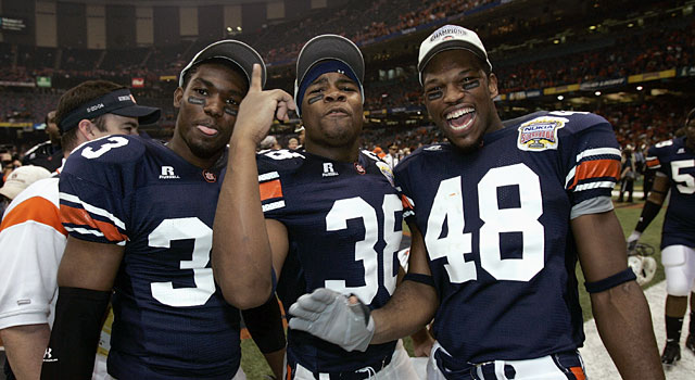 Auburn went undefeated in 2004, but did not finish No. 1. (Getty)