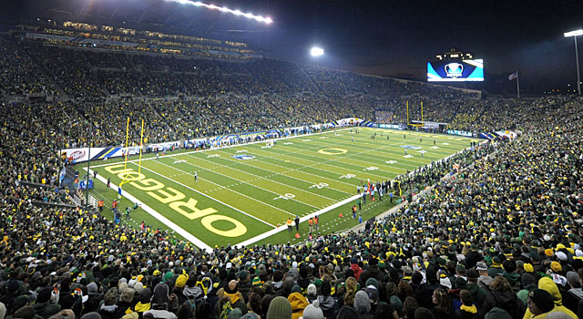 Oregon's Autzen Stadium is one of the best places to watch a game. (USATSI)
