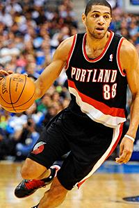 Batum will have a bigger role next season in Portland. (US Presswire)