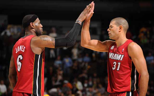 Battier is the 2013-14 Teammate of the Year. (USATSI)