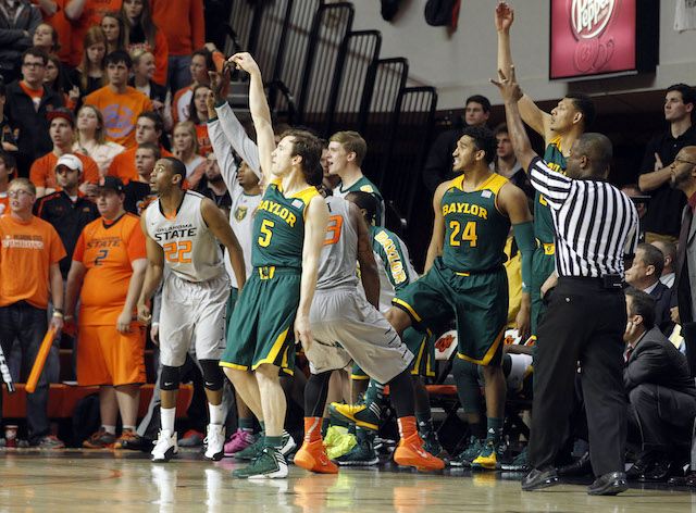 Brady Heslip hit six 3-pointers to help beat Oklahoma State. (USATSI)
