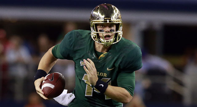 Bryce Petty and Baylor have a backloaded schedule that includes Oklahoma and Oklahoma State. (USATSI)