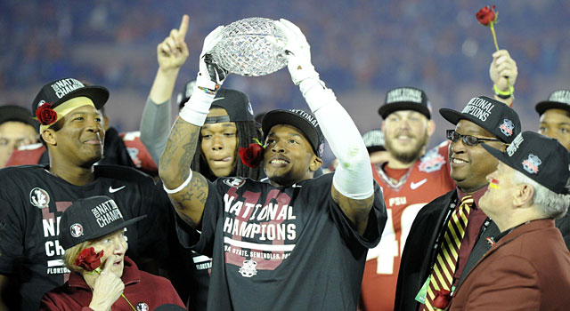 Florida State claims the last crystal ball trophy. (USATSI)